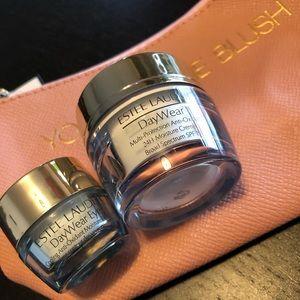 Estee lauder daywear face eye cream gel new set x2